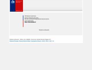 fuas.mineduc.cl screenshot