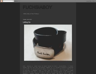 fuchsiaboy.blogspot.com screenshot