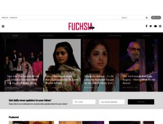 fuchsiamagazine.com screenshot