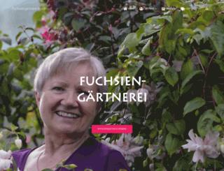fuchsien-friedl.de screenshot
