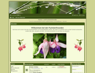 fuchsienfreunde.de screenshot
