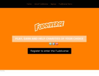 fuddiverse.com screenshot