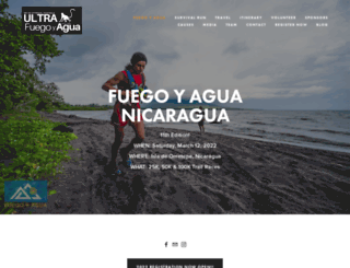 fuegoyagua.org screenshot