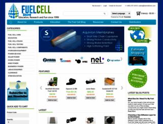 fuelcellstore.com screenshot