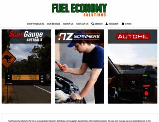 fueleconomysolutions.com.au screenshot