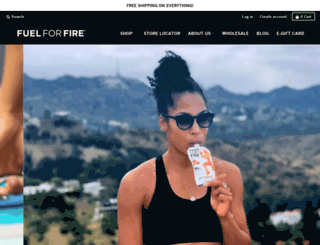 fuelforfire.com screenshot