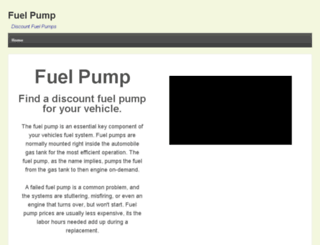 fuelpumps.info screenshot