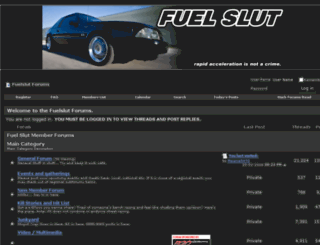 fuelslut.net screenshot