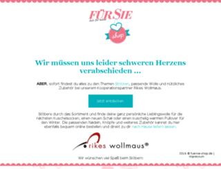 fuersie-shop.de screenshot