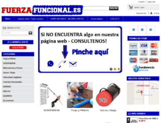 fuerzafuncional.es screenshot
