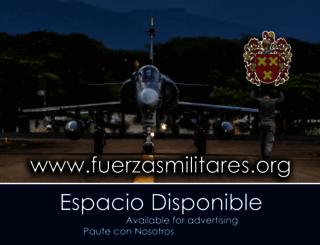 fuerzasmilitares.org screenshot