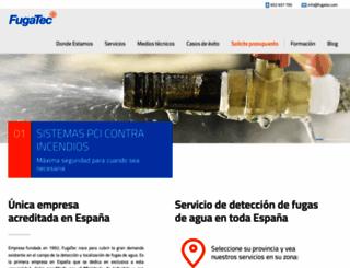 fugatec.com screenshot