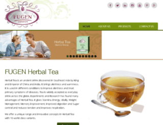 fugenherbaltea.co.uk screenshot