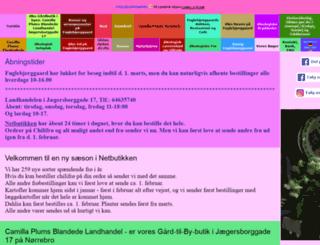 fuglebjerggaard.dk screenshot
