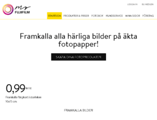 fujidirekt.se screenshot