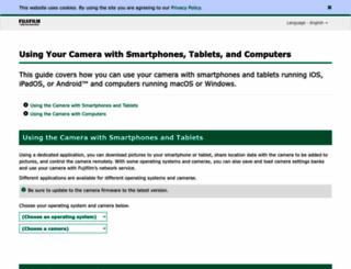 fujifilm-dsc.com screenshot