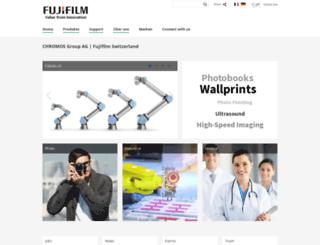 fujifilm.ch screenshot