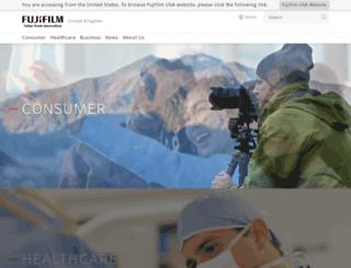fujifilm.co.uk screenshot