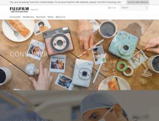 fujifilm.se screenshot