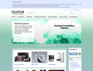 fujimed.com screenshot