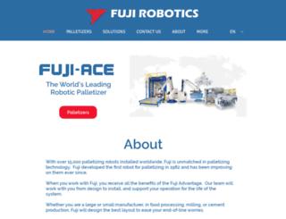 fujirobotics.com screenshot