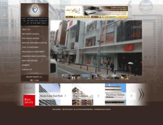 fukuokaproperties.com screenshot