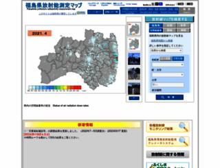 fukushima-radioactivity.jp screenshot