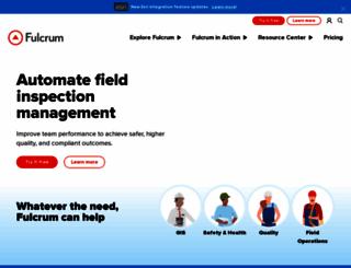 fulcrumapp.com screenshot