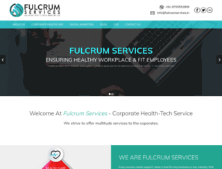 fulcrumservices.in screenshot