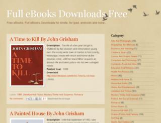 full-ebooks-downloads.blogspot.com screenshot