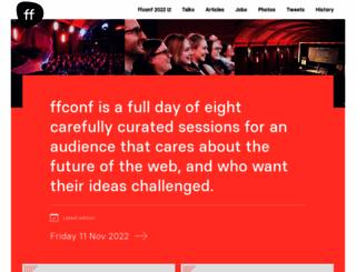 full-frontal.org screenshot