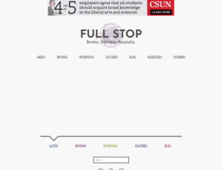 full-stop.net screenshot