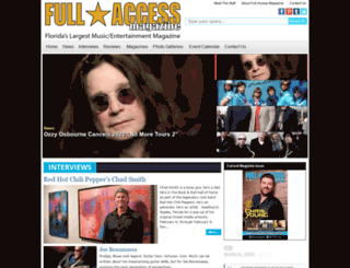 fullaccessmag.com screenshot