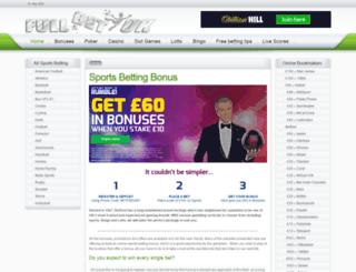 fullbet.co.uk screenshot