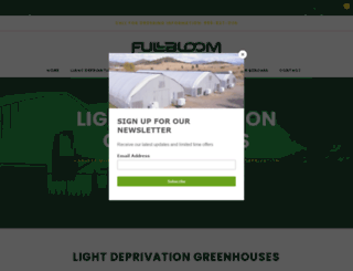 fullbloomhydroponics.net screenshot