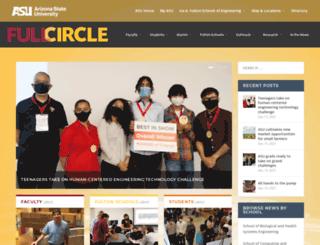 fullcircle.asu.edu screenshot