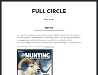 fullcirclelegacy.com screenshot