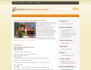 fullcirclewellness.com screenshot