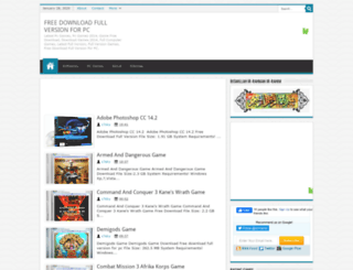 fullcomputergamex.blogspot.com screenshot