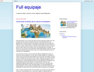 fullequipaje.blogspot.com screenshot