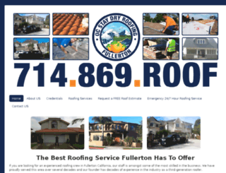 fullertonroofingcontractor.com screenshot