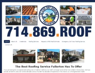fullertonroofingcontractor.com screenshot