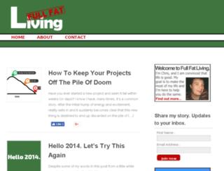 fullfatliving.com screenshot