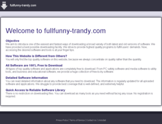 fullfunny-trandy.com screenshot