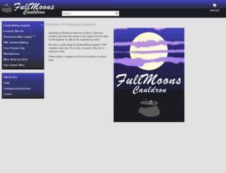 fullmoons-cauldron.co.uk screenshot