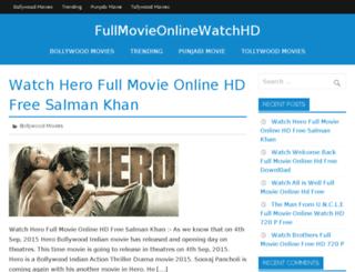 fullmovieonlinewatchhd.com screenshot