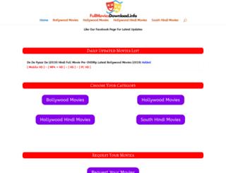 fullmoviesdownload.info screenshot
