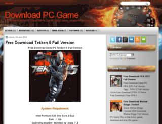 fullnewpcgame.blogspot.com screenshot