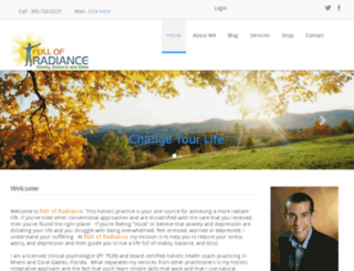 fullofradiance.com screenshot