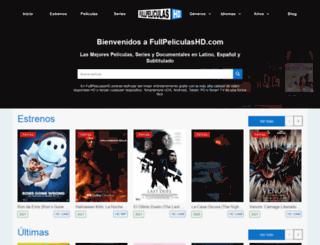 fullpeliculashd.com screenshot